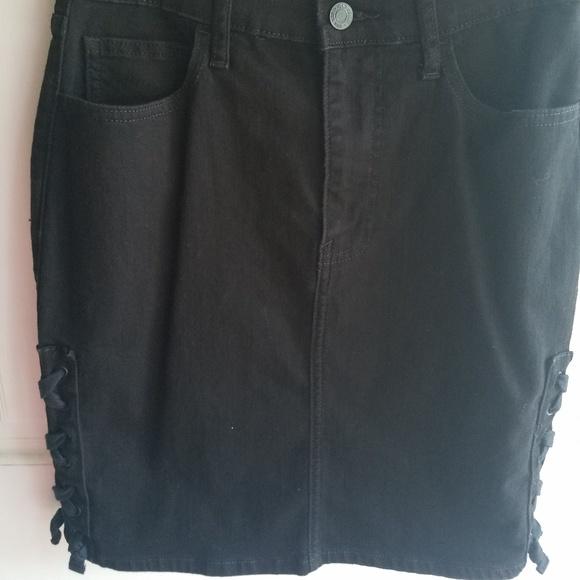 GAP Dresses & Skirts - Gap Black Denim Stretch Skirt